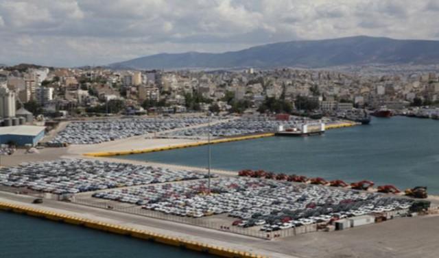 Ο Πειραιάς ένας από τους μεγαλύτερους σταθμούς διακίνησης αυτοκίνητων σε ολόκληρη τη Μεσόγειο