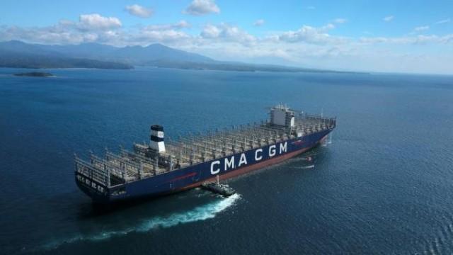 Η CMA CGM παραλαμβάνει mega containership