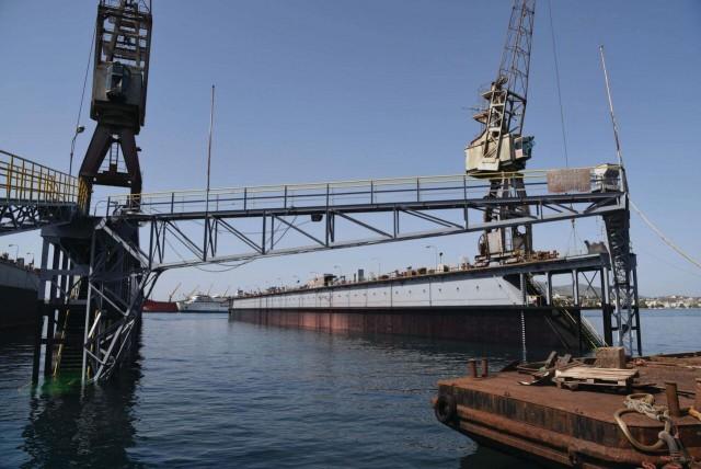 Η ανακοίνωση της Ελληνικά Ναυπηγεία Α.Ε. για την πρόσφατη ημιβύθιση πλωτής δεξαμενής