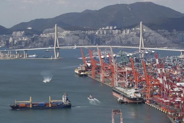 Αυξημένη διακίνηση φορτίων από τους λιμένες της Ν. Κορέας