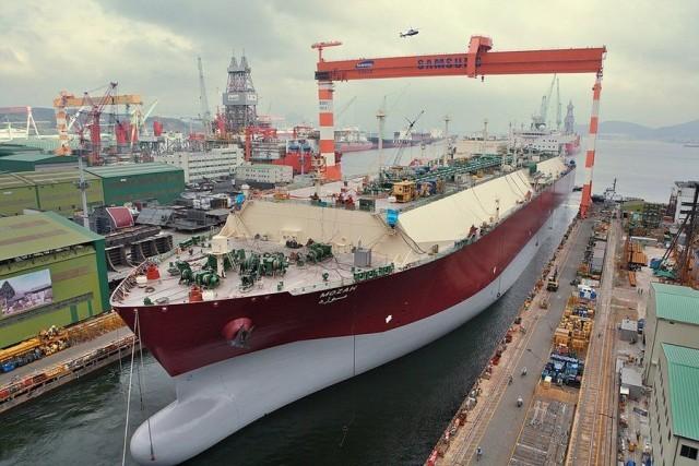 Αναδιπλώνεται η Samsung Heavy Industries