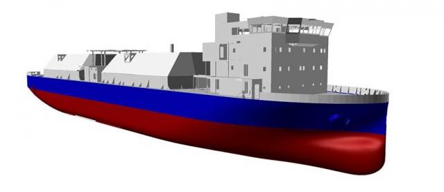 Πλοίο ανεφοδιασμού καυσίμου LNG που δεν θα χρησιμοποιεί θαλάσσιο έρμα