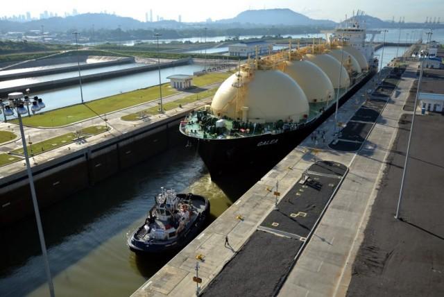 Η Διώρυγα του Παναμά ετοιμάζεται να υποδεχτεί έναν μεγάλο αριθμό LNG πλοίων