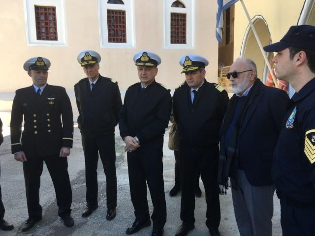 Η επίσκεψη του Υπουργού Ναυτιλίας στο Καστελλόριζο και στη Ρω