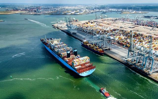 Σημαντική αύξηση στη διακίνηση containers από το λιμάνι του Ρότερνταμ