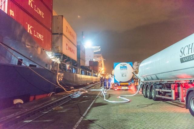 Στροφή του Ρότερνταμ προς το LNG
