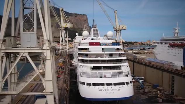 Η πρώτη παγκοσμίως επιμήκυνση κρουαζιερόπλοιου τύπου ultra-luxury
