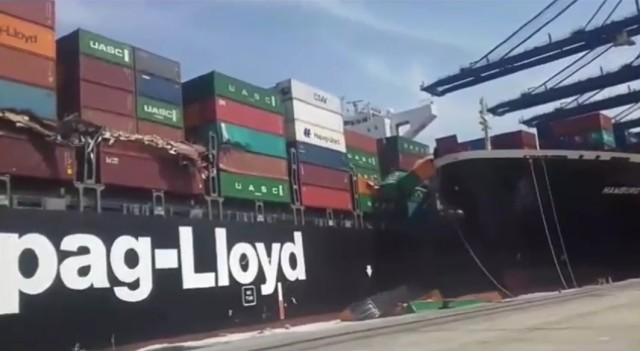 Σύγκρουση πλοίων στον εμπορικό λιμένα του Καράτσι
