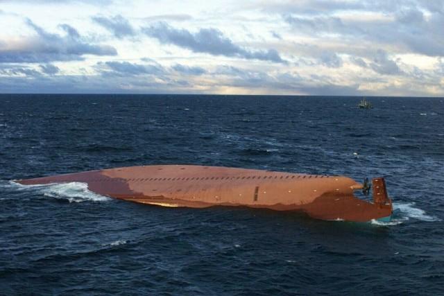 Κινεζικών συμφερόντων πλοίων ανετράπη σε θαλάσσια περιοχή της Μαλαισίας