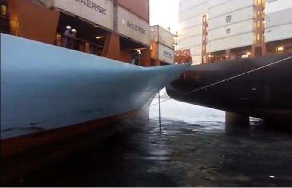 Ακόμη ένα περιστατικό σύγκρουσης containerships