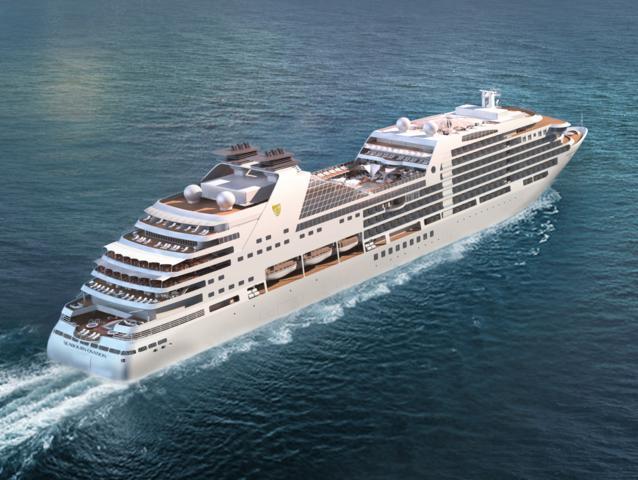 Θυγατρική εταιρεία της Carnival υποδέχεται ένα νέο ultra luxury κρουαζιερόπλοιο