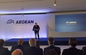 O Αντιπρόεδρος της Aegeanκ. Ευτύχιος Βασιλάκης