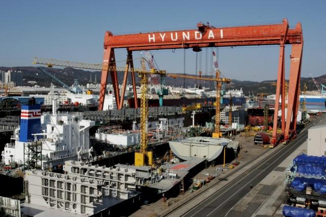 Ελπιδοφόρο το 2018 για την Hyundai Heavy Industries