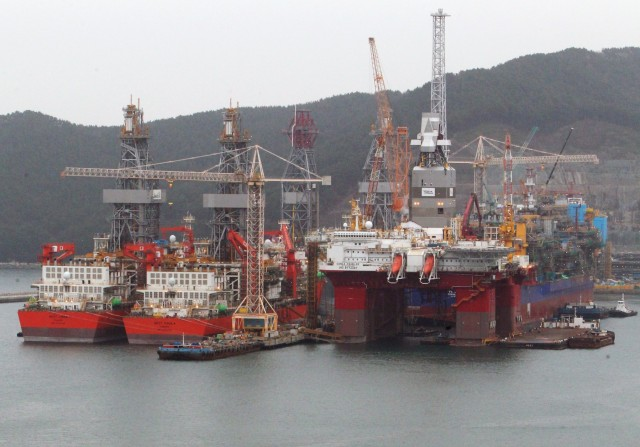 Ανοδική πορεία για τα νοτιοκορεάτικα ναυπηγεία