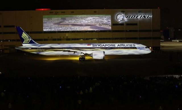 Παραδόθηκε το πρώτο 787-10 Dreamliner