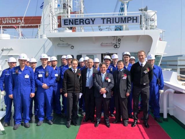 Η Golden Energy παραλαμβάνει δύο νέα δεξαμενόπλοια