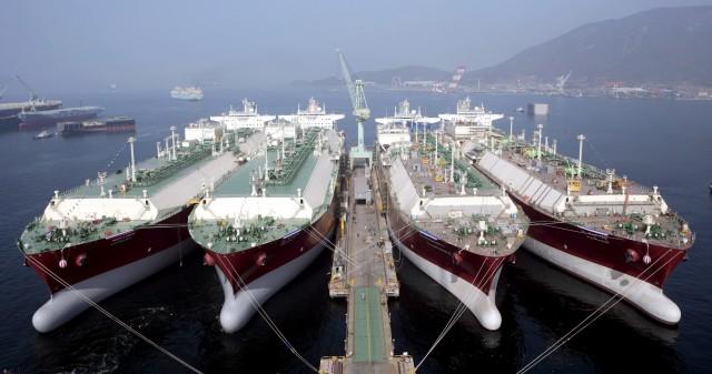 Κύμα ναυπηγήσεων για την Samsung Heavy Industries