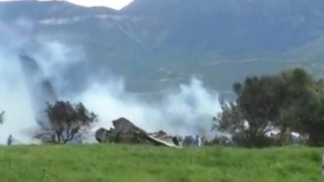 Συνετρίβη στρατιωτικό αεροσκάφος στην Αλγερία