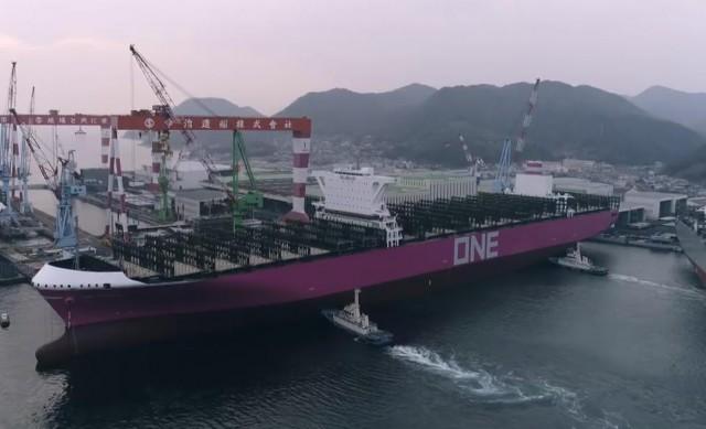 Ο ιαπωνικός συμμαχικός γίγαντας παραλαμβάνει το πρώτο πλοίο του