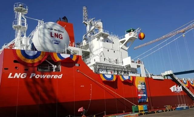 Ναυπηγήθηκε το πρώτο από μια νέα γενιά φιλικών προς το περιβάλλον φορτηγών πλοίων