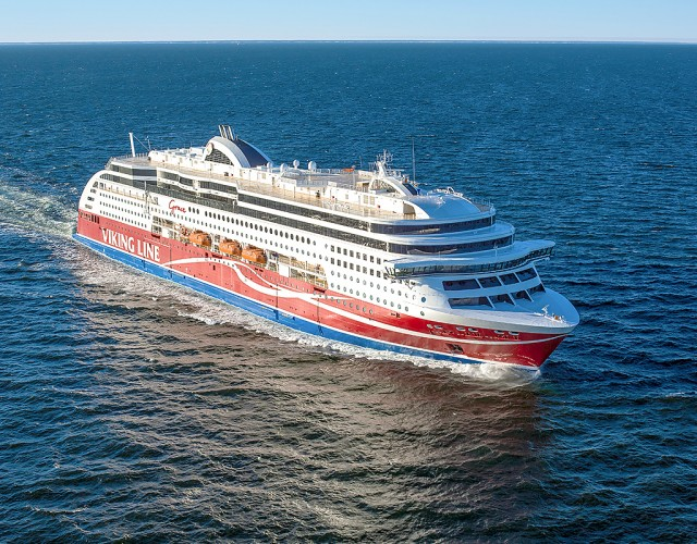 """Viking Grace"": Ένα από τα πλέον οικολογικά επιβατικά πλοία στον κόσμο"