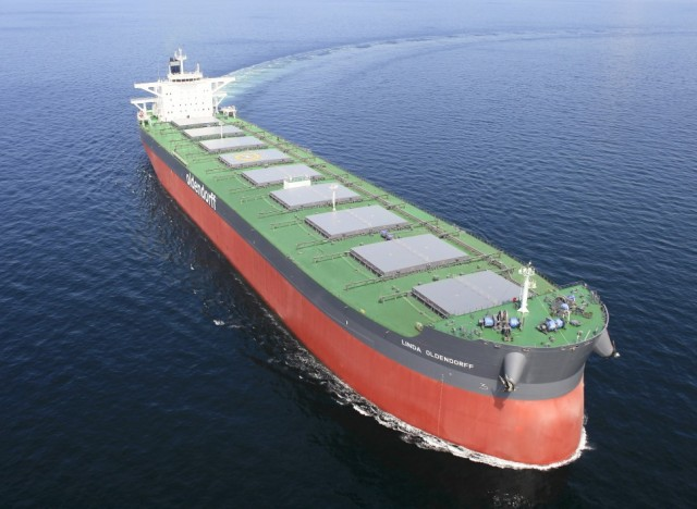H Oldendorff Carriers επιλέγει τις λύσεις Fleet Xpress και Infinity Cube της Navarino