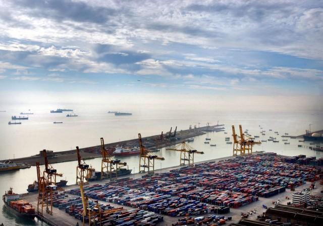 Το λιμάνι της Βαρκελώνης σε πλήρη άνθηση