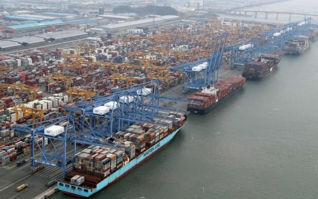 Μειωμένα επίπεδα αύξησης στη νοτιοκορεάτικη εξαγωγική δραστηριότητα
