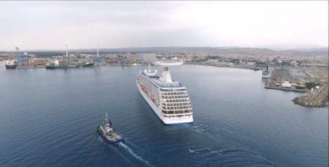 Έτοιμο το λιμάνι της Λεμεσού να υποδεχθεί mega κρουαζιερόπλοια