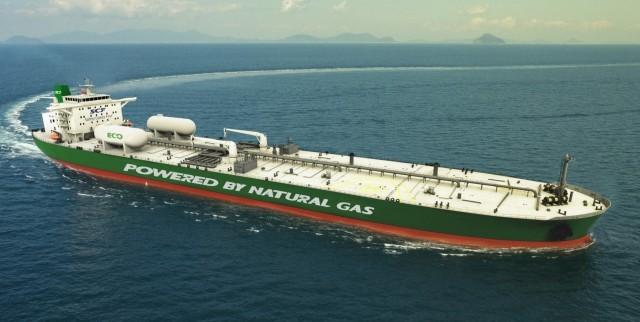 Προς παράδοση το πρώτο Aframax κατανάλωσης LNG