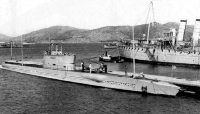 Εντοπίστηκε η ακριβής θέση του ιστορικού ναυαγίου του Υ/Β ΚΑΤΣΩΝΗΣ