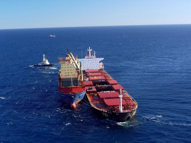 Μειώνονται σταδιακά τα ατυχήματα των bulk carriers