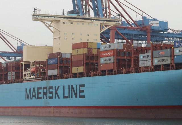 Ανάπτυξη αλλά και ανησυχία για τη Maersk