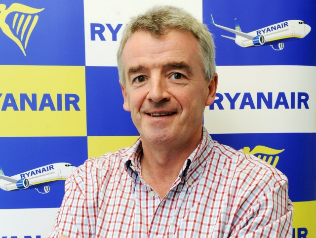 O' Leary: Προς χρεοκοπία πολλοί ευρωπαϊκοί αερομεταφορείς