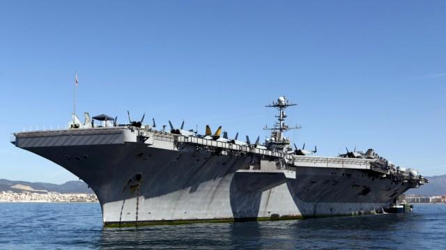 Το αεροπλανοφόρο πλοίο «Χάρι Τρούμαν» έδεσε στη Σούδα
