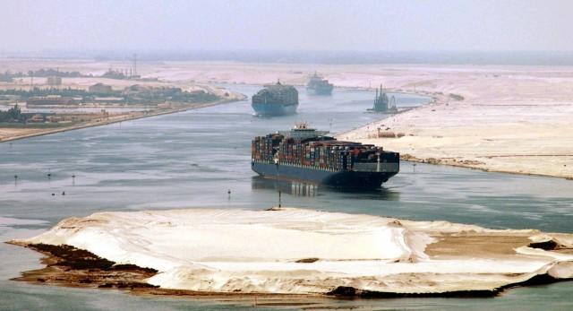 Άνοδος για τα έσοδα της Αιγύπτου από τη Διώρυγα του Σουέζ