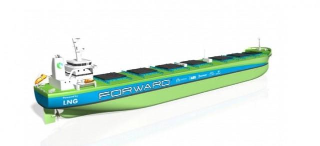 Bulker κατανάλωσης LNG για την Arista Shipping
