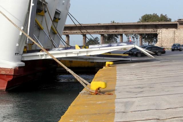 Δεμένα τα πλοία στα λιμάνια της Ελλάδας