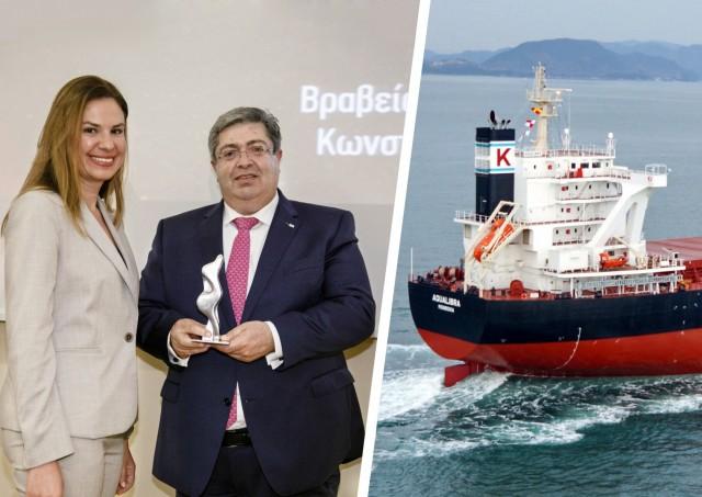Κ. Π. Λιαδής: ο καπετάνιος που τιμήθηκε ως κορυφαίο στέλεχος της ναυτιλίας