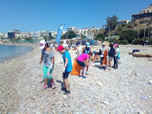 Μέλη της Παιδικής HELMEPA γιορτάζουν τις «Ημέρες Θάλασσας 2018»
