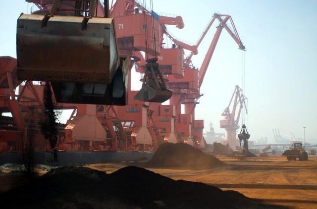 Αύξηση για τις εισαγωγές σιδηρομεταλλεύματος του ασιατικού γίγαντα