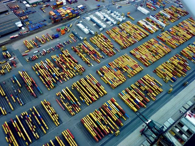 Ρεκόρ διακίνησης containers από τους λιμένες της Μεσογείου