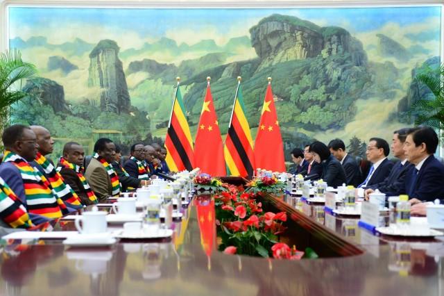 Ο κινεζικός δράκος αποσκοπεί στη συμμετοχή της Ζιμπάμπουε στο «Belt and Road Initiative»