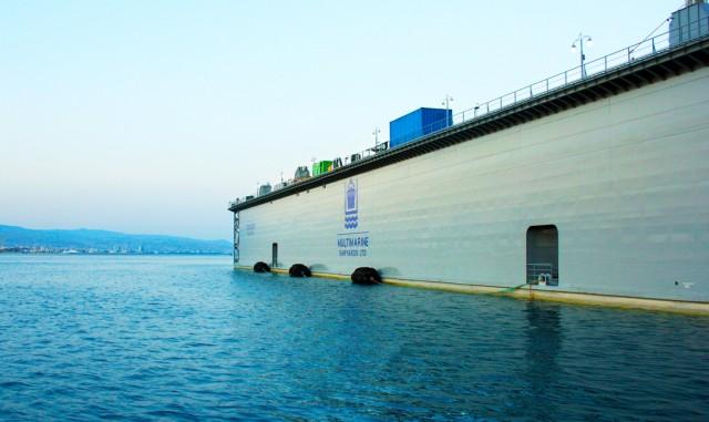 Η Multimarine ενισχύει το λιμάνι της Λεμεσού με μια υψηλών προδιαγραφών Πλωτή Δεξαμενή