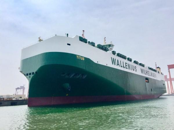 Το πιο «πράσινο» super-sized Ro-Ro του κόσμου απέπλευσε από την Κίνα
