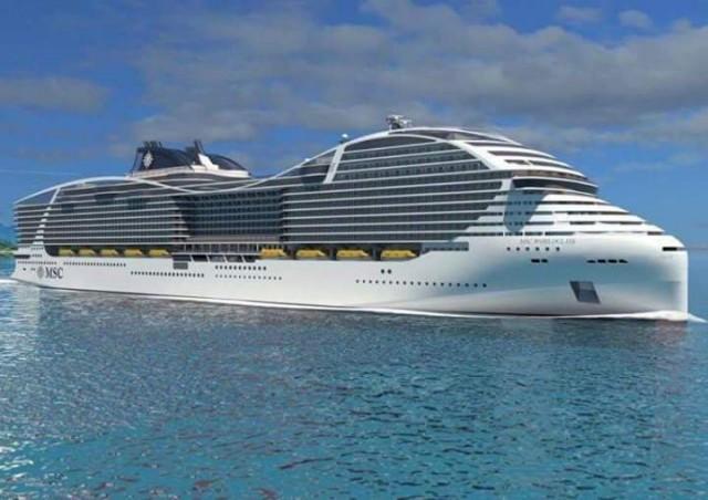 Αμείωτες οι ναυπηγήσεις πλοίων για την MSC Cruises