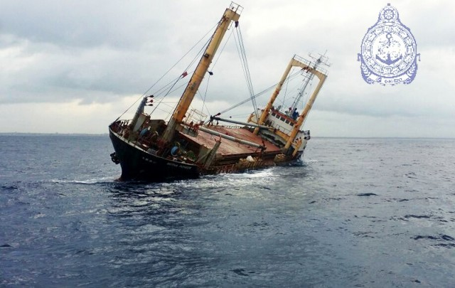 Ατύχημα με ινδικό εμπορικό πλοίο ανοιχτά της Σρι Λάνκα