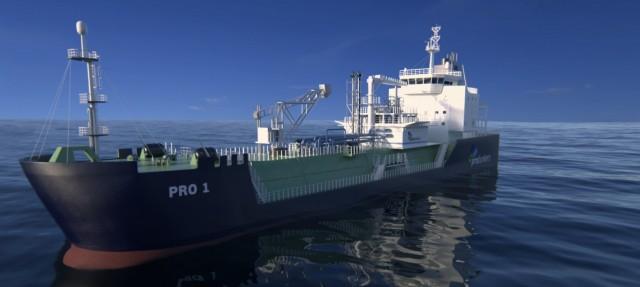 ABS και probunkers υπέγραψαν συμφωνία για έναν στόλο τροφοδοσίας πλοίων με LNG