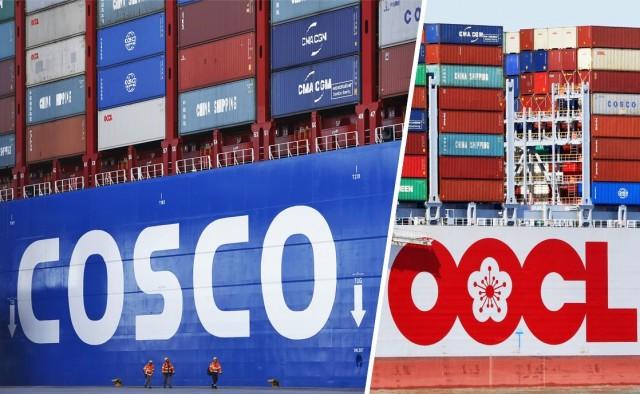 «Πράσινο» φως για την εξαγορά της OOCL από την COSCO