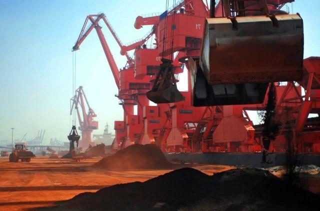 Κίνα: Κατακόρυφη αύξηση των δια θαλάσσης εισαγωγών σιδηρομεταλλεύματος